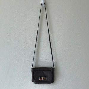 Grey Kate Spade Crossbody Bag
